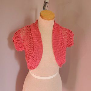 Red Camel Shrug Size Small